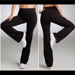 Spanx Black Slim-X Bagel Buster Power Pants